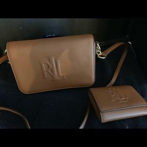 Ralph Lauren crossbody bag and wallet